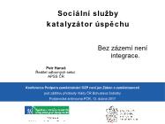 Petr Hanuš ředitel odborných sekcí APSS ČR