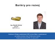 Zdeněk Věchet - Bariery pro rozvoj ZZP